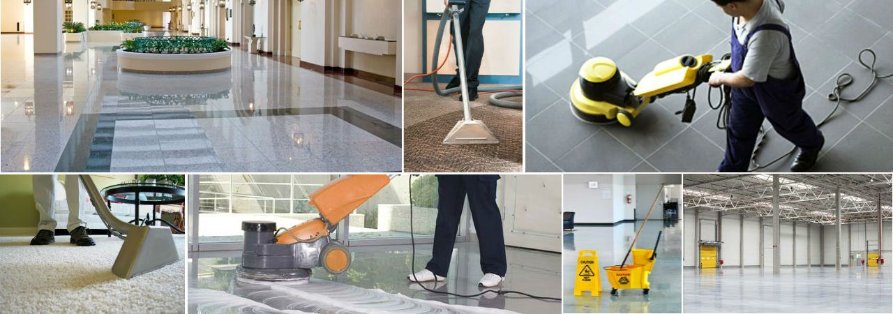 Commercial building cleaning services – Wmi Construction